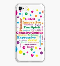 Creative Genius iPhone Case/Skin