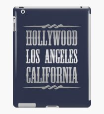 Silver Hollywood iPad Case/Skin