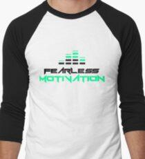 Fearless Motivation - LOGO Team Fearless Men's Baseball ¾ T-Shirt