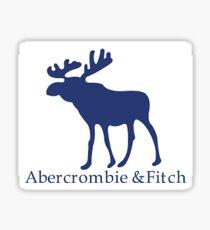 Ambercombie & Fitch Merch Sticker