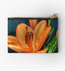Outstanding Orange Lily Studio Pouch
