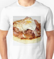Bacon Eggs Crepe, Breakfast Of Champions Unisex T-Shirt