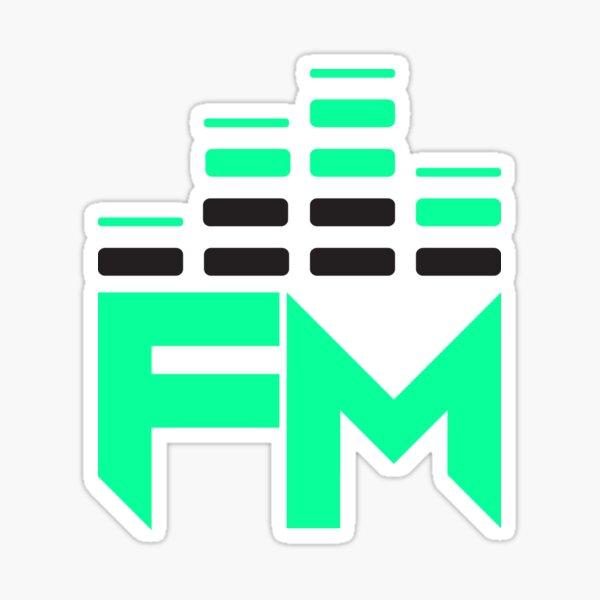 FM Fearless Logo Sticker