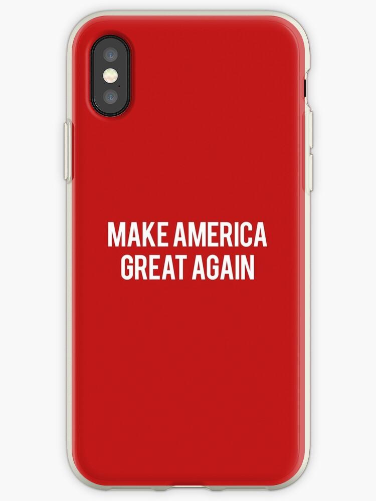 outlet store 8fc3d 8e0b7 'Make America Great Again' iPhone Case by alexsinnott