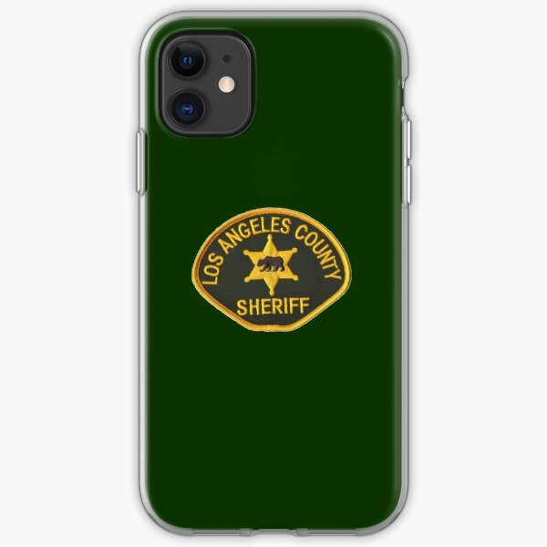 Los Angeles County Sheriff iPhone Soft Case