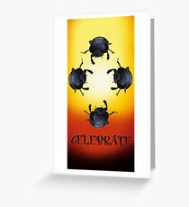 Celebrate - Dung Beetles Greeting Card