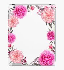 Pink floral Gift for women iPad Case/Skin
