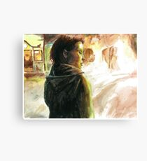 The Girl Who Played With Fire Canvas Print