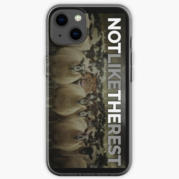 NOT LIKE THE REST! iPhone Soft Case
