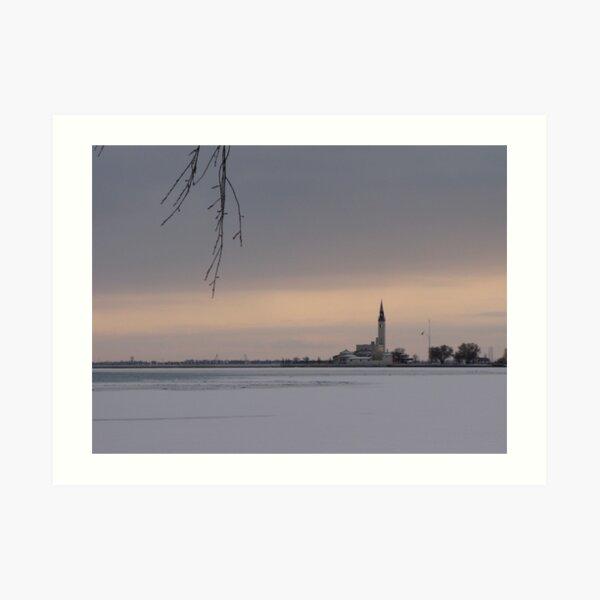 Across the Ice Art Print