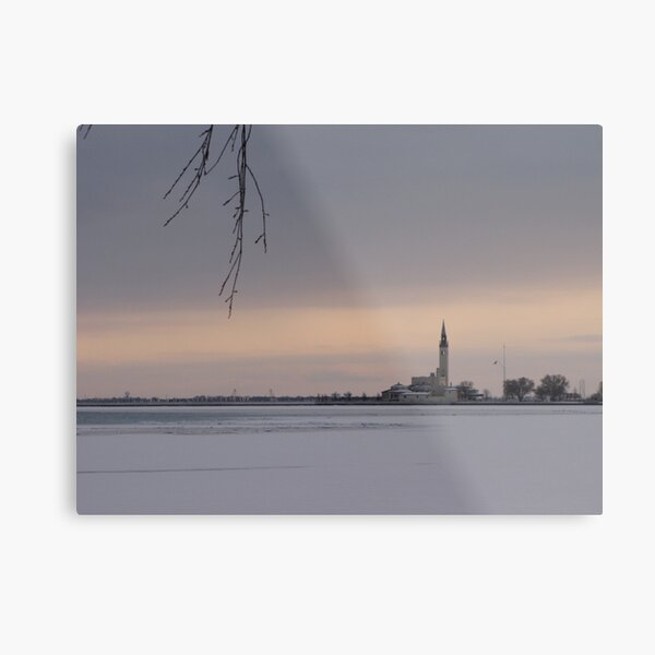 Across the Ice Metal Print
