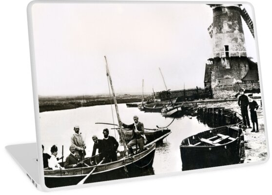 Cley windmill - the shooting party 1888 by cleywindmill