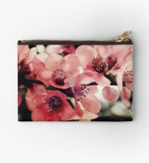 Japanese Quince - Single Branch Studio Pouch