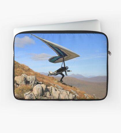 Hang Glider, Meall a' Bhùiridh, Scotland Laptop Sleeve