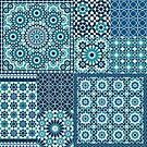 Moroccan tiles 1 by creativelolo