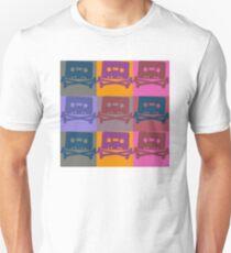 Music Tape Cassette Pirate Pop Art T-Shirt