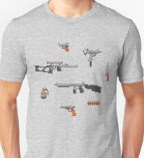 Weapons pixel set Unisex T-Shirt
