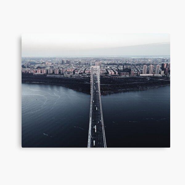 High-Res George Washington Bridge Wall Art Canvas Print