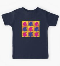 Pop Art Drummer Kids Tee
