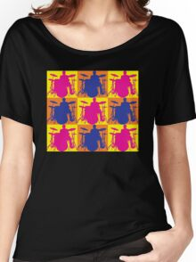 Pop Art Drummer Women's Relaxed Fit T-Shirt