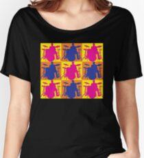 Pop Art Drummer Women's Relaxed Fit T-Shirt
