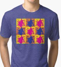 Pop Art Drummer Tri-blend T-Shirt