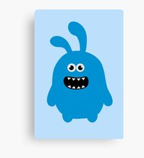 Funny Cute & Crazy Bunny Canvas Print