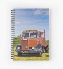 Dennis, the Brewery Truck Spiral Notebook