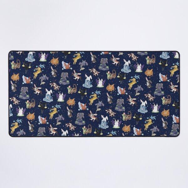 Zodiac Bunnies  Desk Mat