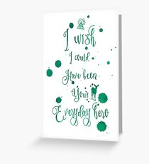 Everyday Hero Greeting Card