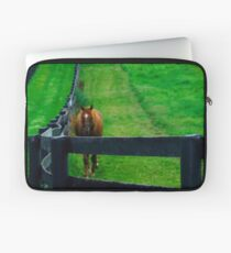 Here He Comes Laptop Sleeve