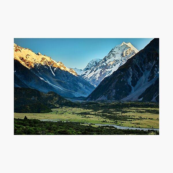 Aoraki Mt Cook Photographic Print