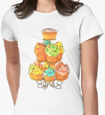 Cupcakes Women's Fitted T-Shirt
