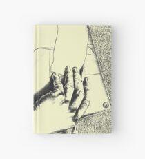Souvenir from Netherlands - Escher's hands Hardcover Journal