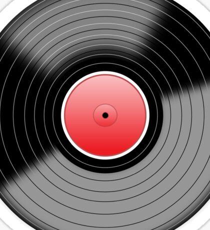 Vinyl Record 1 Sticker