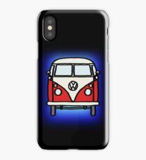 Red White Campervan iPhone Case/Skin