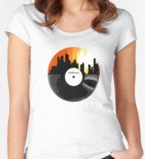 Camiseta entallada de cuello redondo Motown