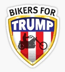 Bikers For Trump - 2016 Sticker