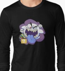 Mario Ghost Long Sleeve T-Shirt