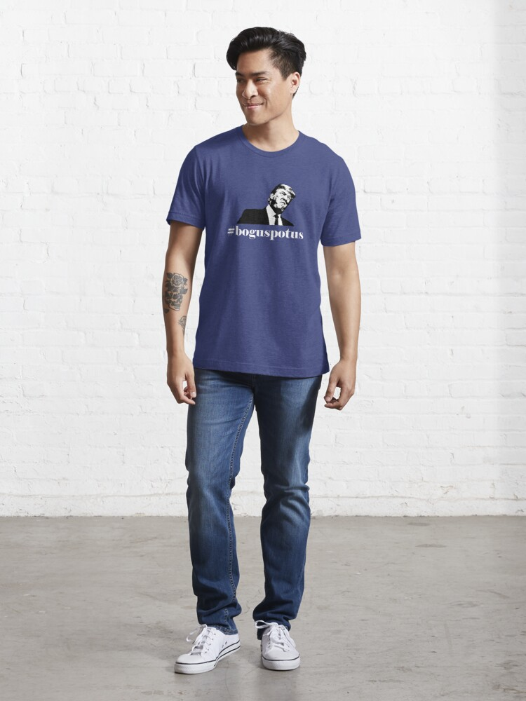 Alternate view of Image - Serifed Essential T-Shirt