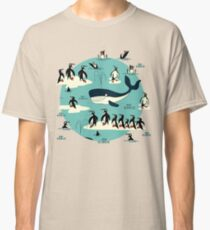 Whales, Penguins and other friends Classic T-Shirt