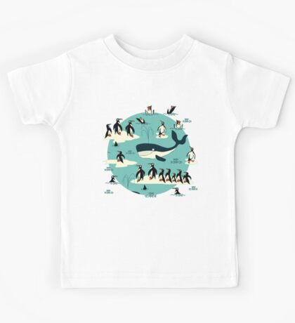 Whales, Penguins and other friends Kids Clothes