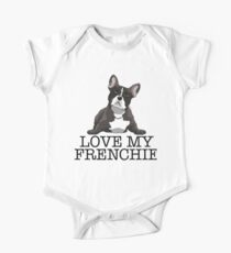Love My Frenchie  One Piece - Short Sleeve