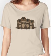 Sea otters Q Women's Relaxed Fit T-Shirt