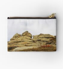 Writing-on-Stone in Autumn Studio Pouch