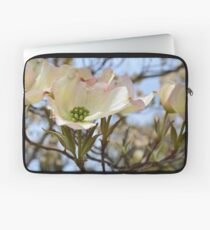 Dogwood Flowers in Spring Laptop Sleeve