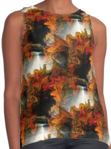 Abstract Light And Colors Contrast Tank