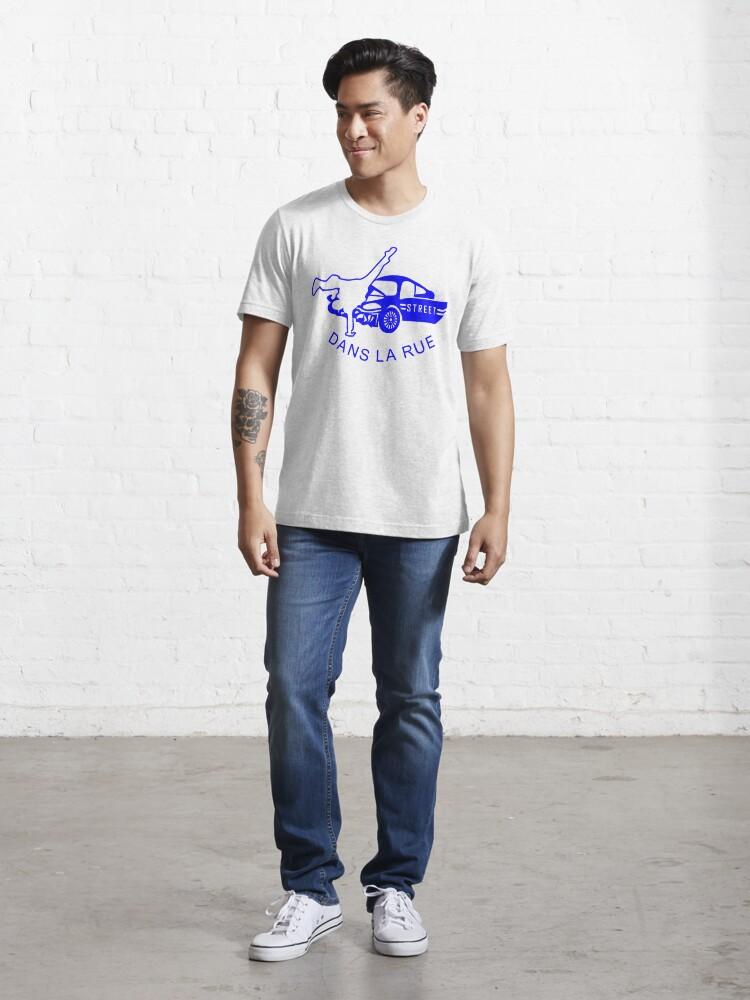 "Alternate view of ""Dans La Rue"" (B) Essential T-Shirt"