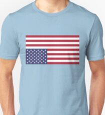 UPSIDE DOWN AMERICAN FLAG Distress Signal Unisex T-Shirt
