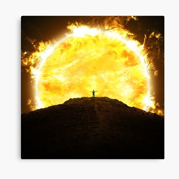 Rise of the Sun Canvas Print